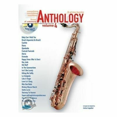 Anthology Tenor Saxophone Vol. 3 (with CD)