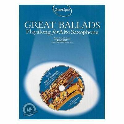 Guest Spot - Great Ballads For Alto Saxophone