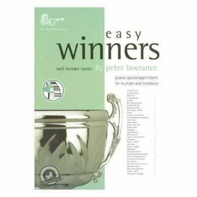 Lawrance: Easy Winners Tpt/Tbn/Euphonium Piano Accompaniment