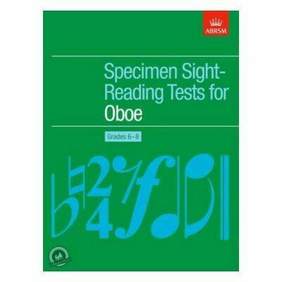 Specimen Sight-Reading Tests for Oboe, Grades 6-8