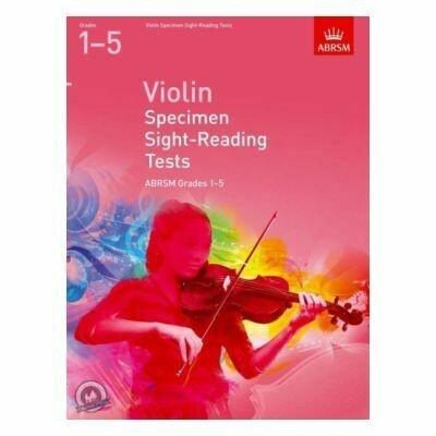 Violin Specimen Sight-Reading Tests, Grades 1-5 (from 2012)