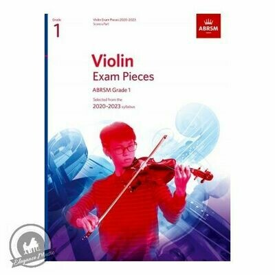 ABRSM Violin Exam Pieces 2020-2023 Grade 1 (Book with Part)