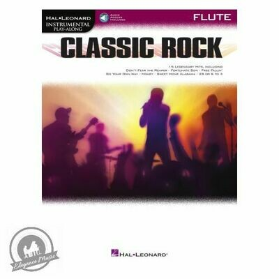 Classic Rock Instrumental Play-Along for Flute (with Audio-Online)