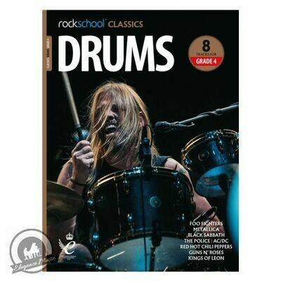 Rockschool Classics Drums Grade 4 (2018+)