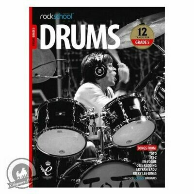 Rockschool: Drums Grade 5 2018+ (Book/Audio)
