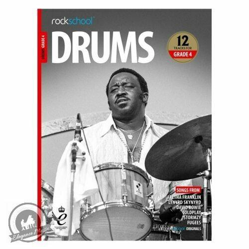Rockschool: Drums Grade 4 2018+ (Book/Audio)