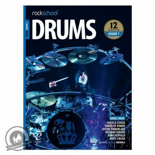Rockschool: Drums Grade 7 2018+ (Book/Audio)