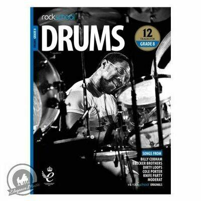 Rockschool: Drums Grade 8 2018+ (Book/Audio)