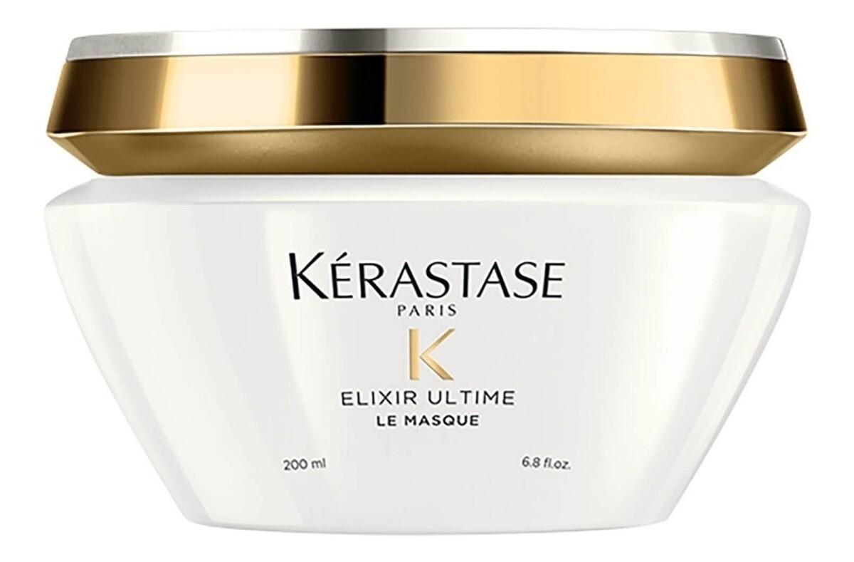 Kérastase Elixir Ultime Le Masque 200 ml | Mascarilla Nutricion, Anti Frizz, Brillo