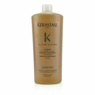 Kérastase Bain Elixir Ultime Le Bain 1 lt | Shampoo Nutrición Suavidad y Brillo