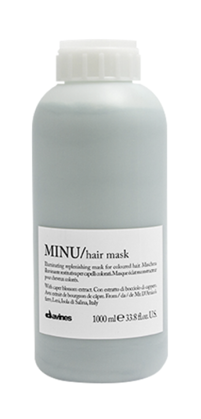 Davines MINU Hair Mask 1 lt | Cabello con Color