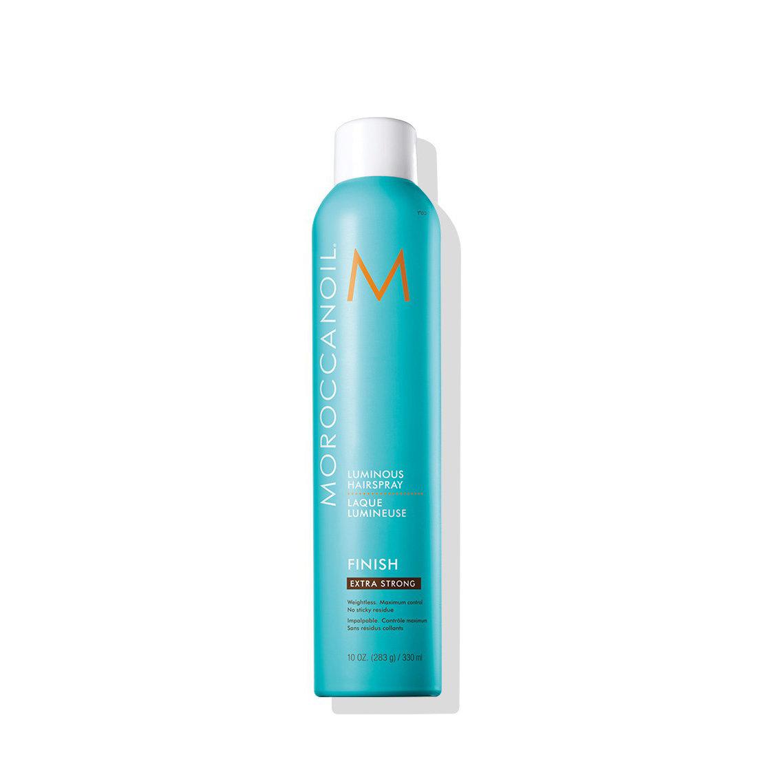 Moroccanoil Luminous Hairspray Extra Strong 330 ml | Fijador Luminoso