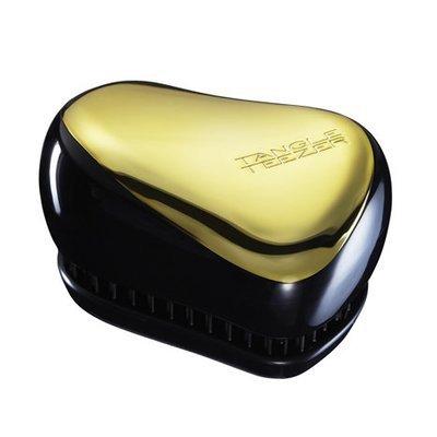 Tangle Teezer Compact Styler | Cepillo Desenredante Dorado-Negro
