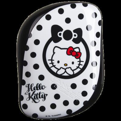 Tangle Teezer Compact Styler | Cepillo Desenredante Hello Kitti Black-White
