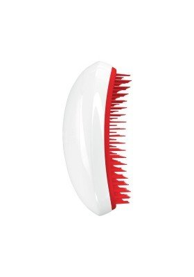Tangle Teezer Salon Elite Limited Edition | Cepillo Desenredante Blanco-Rojo