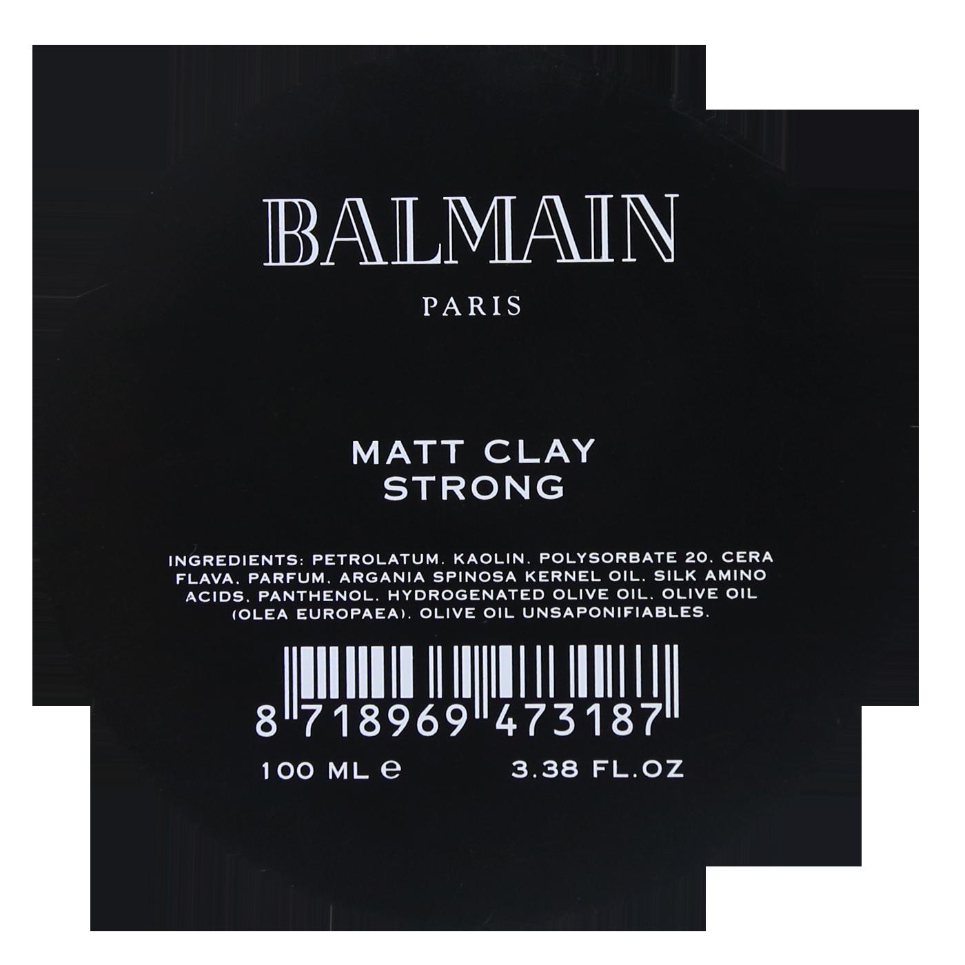 Balmain Matt Clay Strong 100 ml | Arcilla Acabado Mate