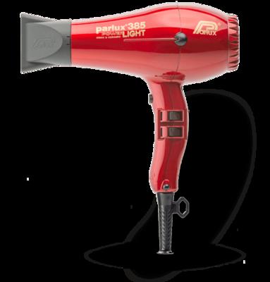 Parlux 385 Power Light | Rojo | 2100 w