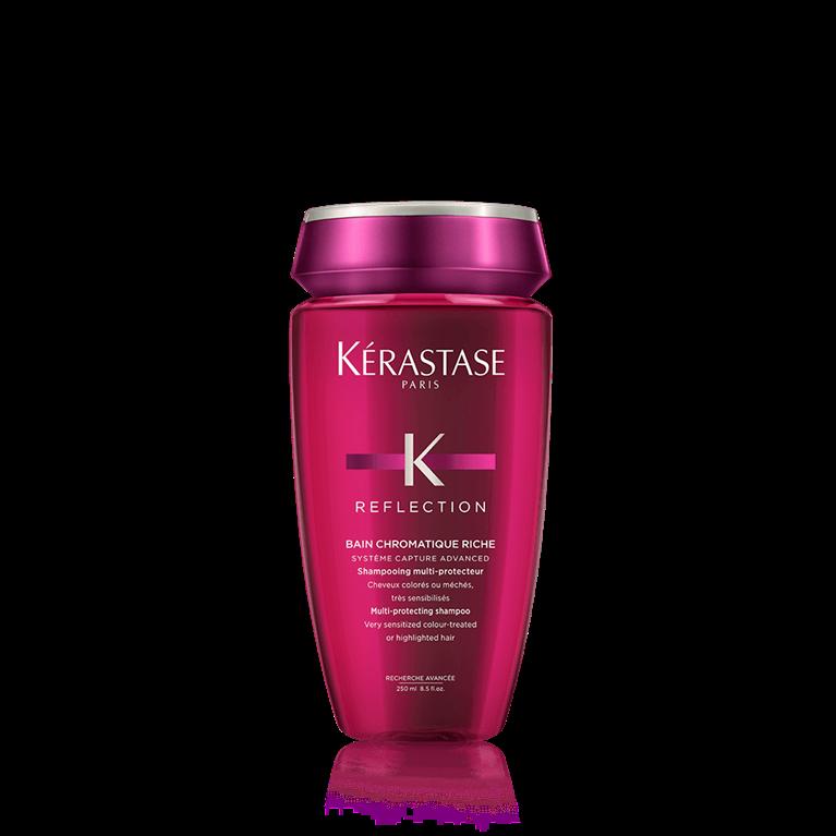 Kérastase Bain Chromatique Riche 250 ml | Shampoo Color o Mechas Fuertemente Sensibilizado