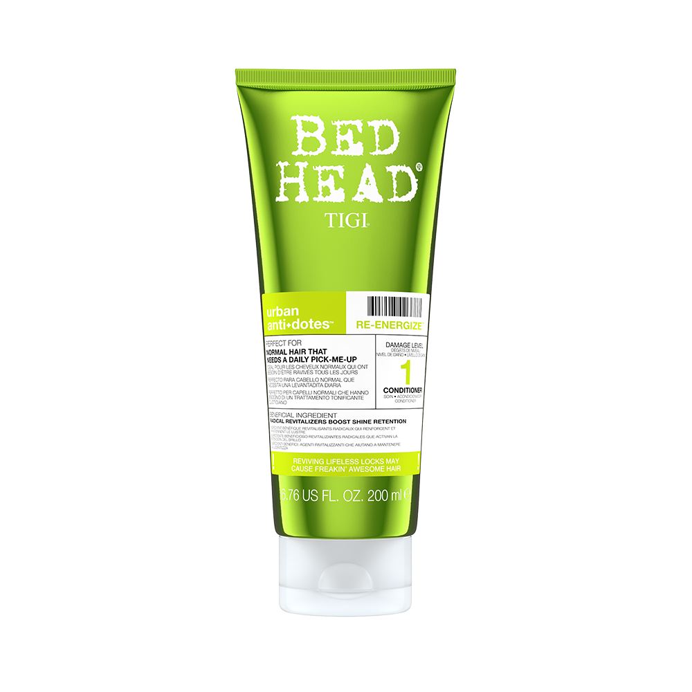 Bed Head Nivel 1 Re-energize Acondicionador 200 ml | Hidratación