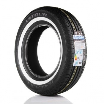 Vitour Galaxy R1 Valkosivu 20 mm 185/70-13 T