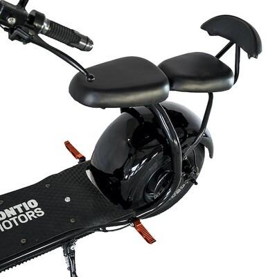 Kontio Motors Kruiser 2.0: takaistuin + jalkatapit