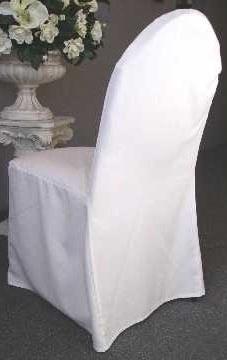 Scuba Chair Cover (Classic White)