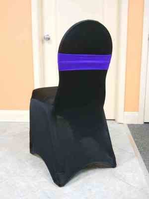 Spandex Chair Band (Purple)