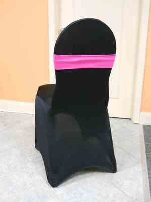 Spandex Chair Band (Fuschia)
