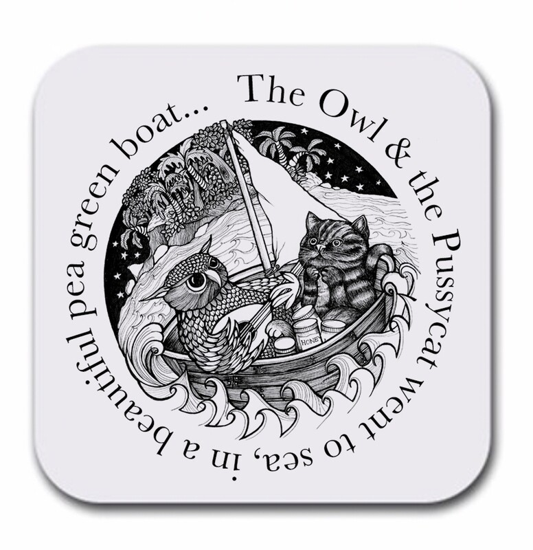 The Owl & the Pussycat Coaster