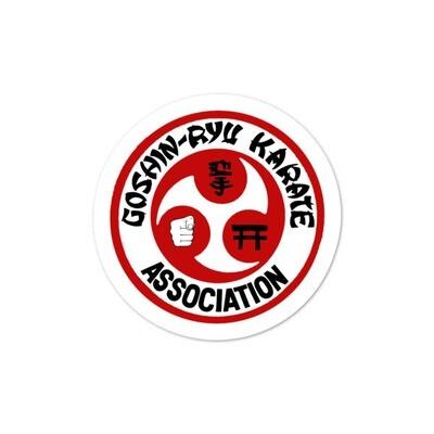 Goshin-Ryu Karate Association Sticker