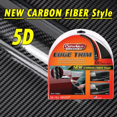 Cowles®T5603 Carbon Fiber Style Door Edge Guard 18'