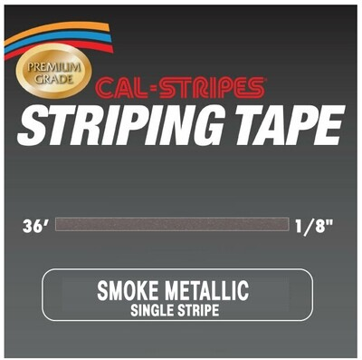 Cal-Stripes® Smoke Metallic Single Pinstriping Tape 1/8