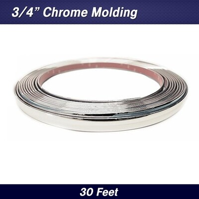 Cowles® 37-022 Custom Chrome Molding Trim 3/4