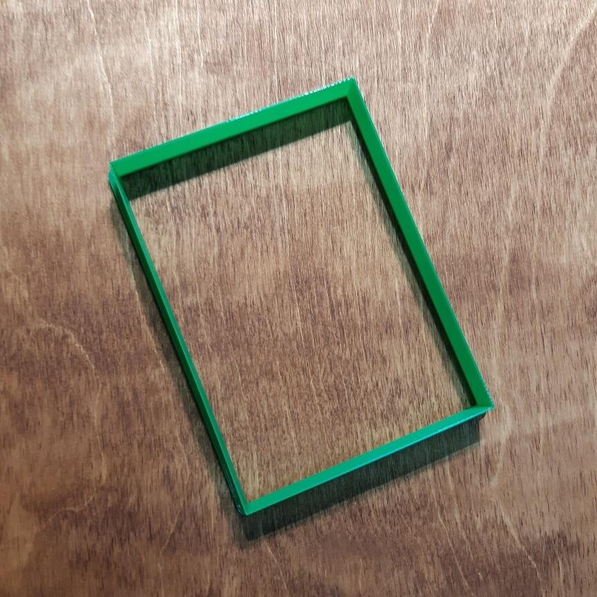 "Форма для пряника ""Прямоугольник"" 12,5х9 см"