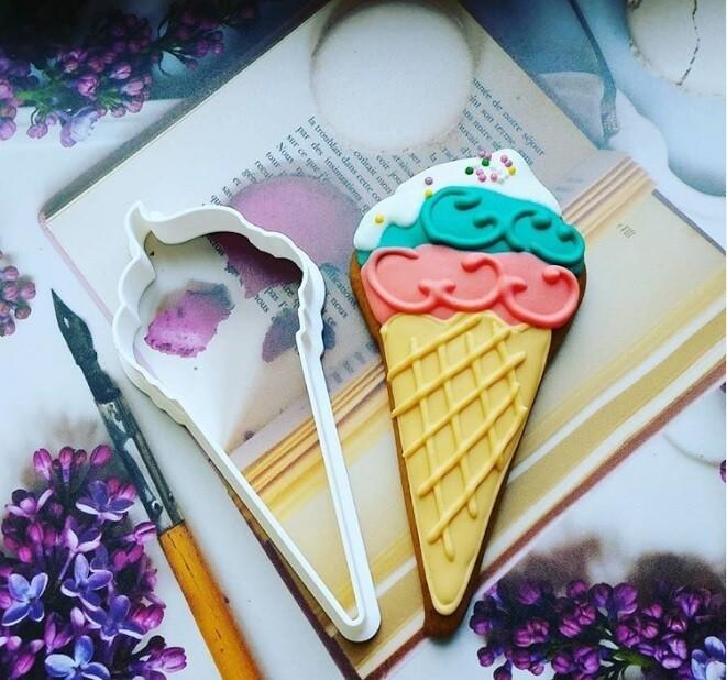 """Форма для пряников """"Мороженое"""" 6х10 см"""