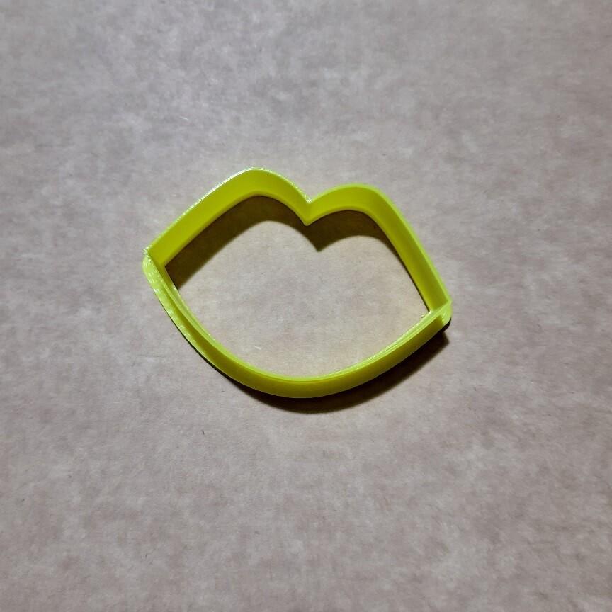 "Форма для пряника ""Губы №1"" (6х4 см)"