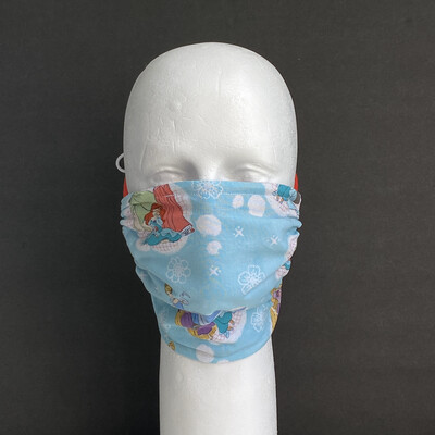 READY TO SHIP Disney Princesses Adjustable Reusable Cloth Face Covering