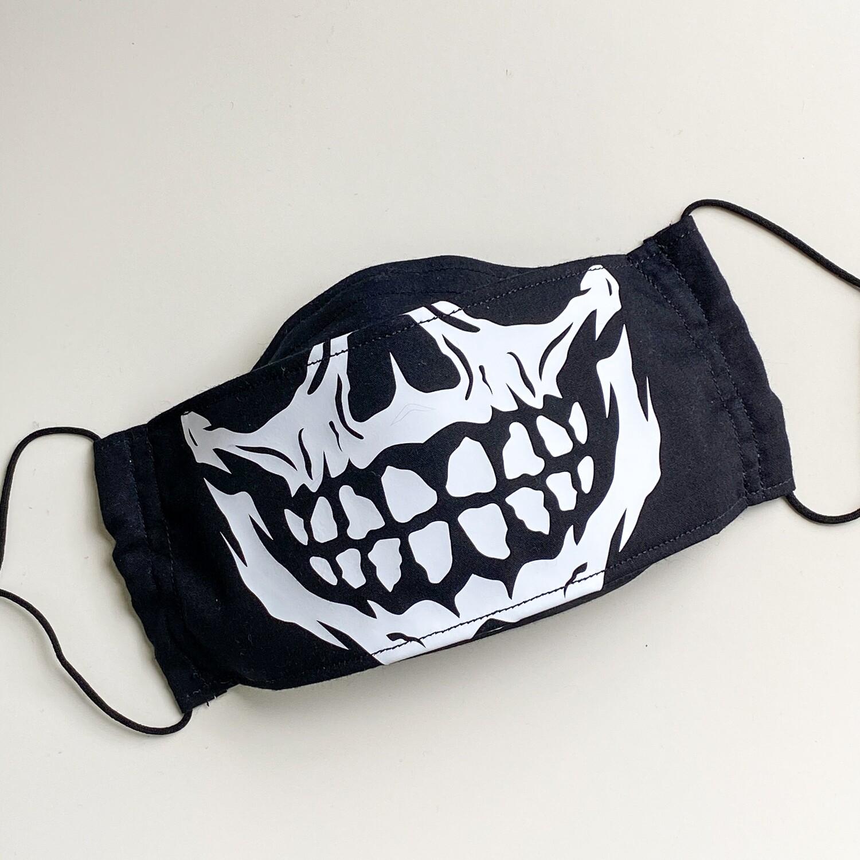 EasyFit Skull Grin Reusable Cloth Face Mask