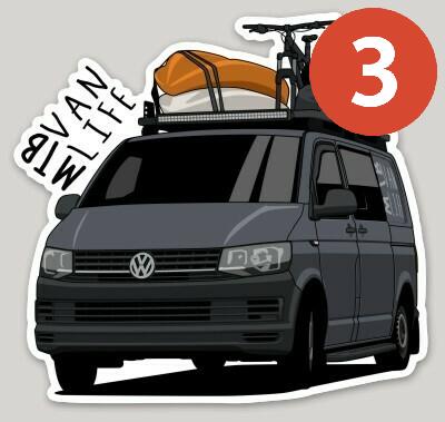 MTBVanLife Sticker (Pack of 3)