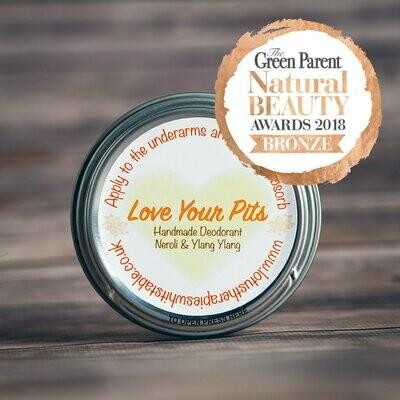 Love Your Pits Handmade Deodorant - Neroli & Ylang Ylang 50ml