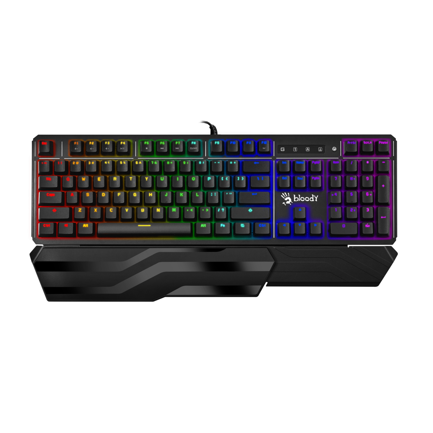 B975 Full Sized Keyboard (Mouse + Mouse Pad Combo)