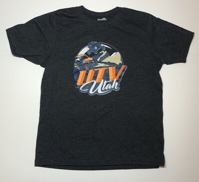 UTV Utah Youth T-Shirt (Large Front Logo)