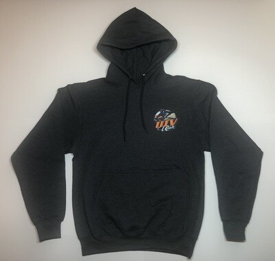 UTV Utah Men's Hoodie (Small Front Logo - 2 Sided)