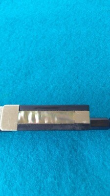 L. Ludwig Vintage Violin Bow by L.Ludwig - Early 1900's Pernambuco Sterling Silver Mounted   1925 Pe