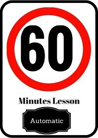 Automatic driving lesson 60 minutes