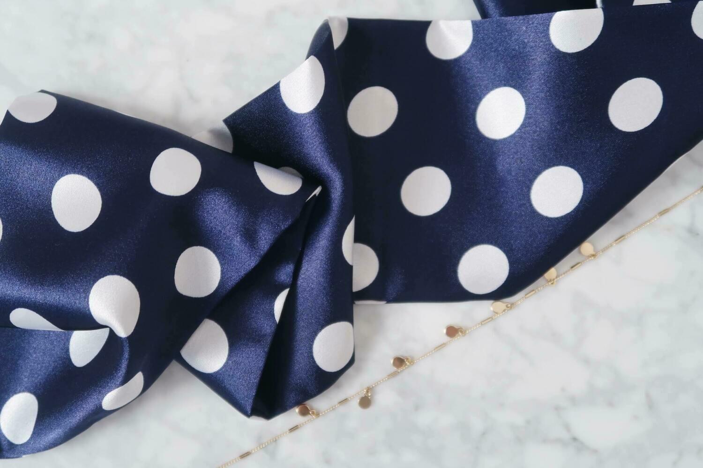 Headband Navy Blue