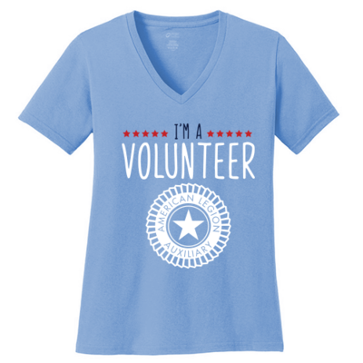 I'm A Volunteer V-neck