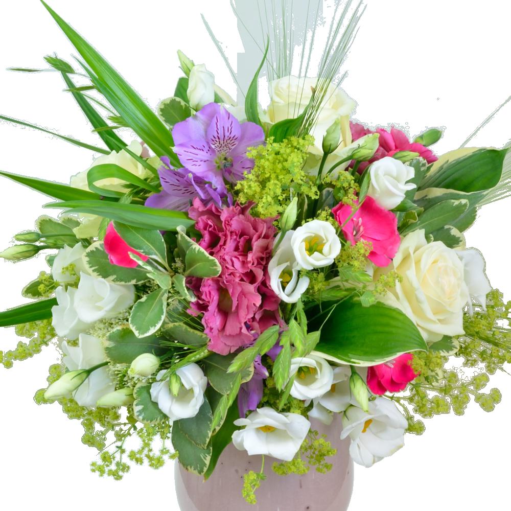 Elegantná bielo-ružová kytica