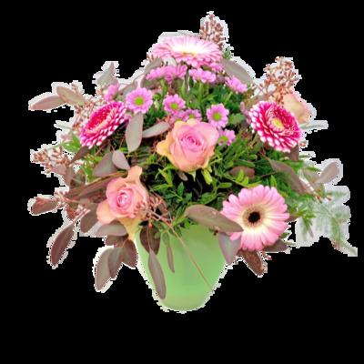 Vysnívaná ružová kytica