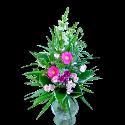 Kytica kvetov z letnej záhrady